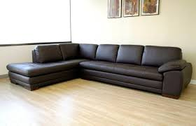 Buy Sectional Sofa by Furniture Best Espresso Leather Cheap Sectional Couch