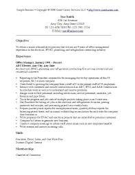 Example Resume  Example Resumes Objectives Examples Of Resumes     Binuatan