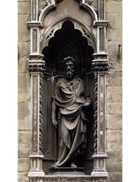 Keyhole Doorway by St John The Baptist Ghiberti 1412 1416 Bronze Height 254 Cm