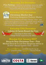 recycle your christmas tree emsworth business association