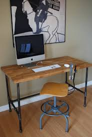 63 best desk images on pinterest industrial furniture home and wood