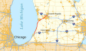 Map Of University Of Michigan by Interstate 196 Wikipedia