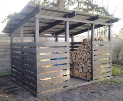 Free Firewood Shelter Plans by Modern Firewood Shed Black Fire Pinterest Firewood Modern