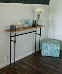 how to build a rustic table using galvanized pipes rustic table