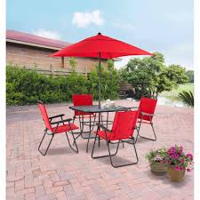 5 Pc Patio Dining Set - patio interesting patio tables at walmart patio tables at