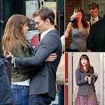 Fifty Shades of Grey Movie Pictures From the Set | POPSUGAR.