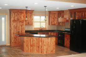 eclectic kitchen knotty alder cabinets u2014 modern home interiors