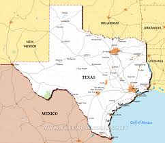 Texas Map Austin by Texas Maps