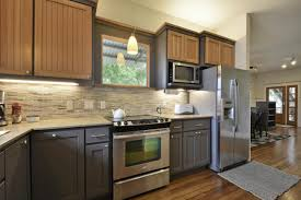 different color kitchen cabinets ideas amazing two tone cabinets
