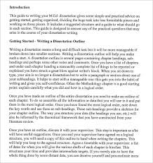 dissertation images ASB Th  ringen     Dissertation Outline Template Free Free Word PDF Format Dissertation Writing Outline