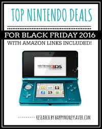 nintendo 3ds xl black friday sale top nintendo deals for black friday 2016