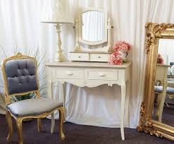 White Shabby Chic Dressing Table by Jolie Country Shabby Chic Cream Dressing Table Set The Interior