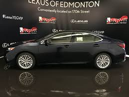 lexus sedan packages new 2017 lexus es 350 executive package 4 door car in edmonton