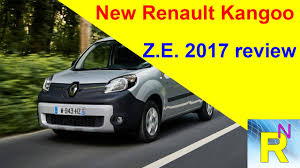 car review new renault kangoo z e 2017 review read newspaper