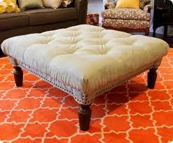 diy ottoman coffee table with storage