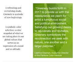 Pantone 2017 by 2017 Pantone Color Of The Year Blogs U0026 News Luckett U0026 Farley