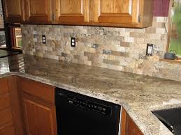 Interior  Peel And Stick Stone Backsplash Transitional Compact - Peel on backsplash