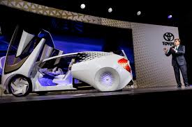 toyota motor car toyota unveils concept i car plans for automotive future boston