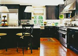 Kitchen Refacing Ideas by Exquisite Custom Black Kitchen Cabinets Ideas For Modern Diy Doors