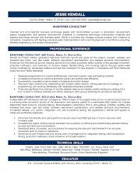 Technical Skills On Cv Example Consulting Resume Resume For Your Job Application