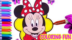minnie mouse coloring page mickey mouse clubhouse speed coloring