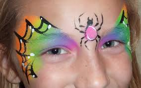 Halloween Kids Witch Makeup by Halloween Face Painting Spider Web Youtube