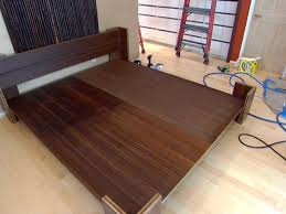 Woodworking Plans For A Platform Bed With Drawers by How To Build A Bamboo Platform Bed Hgtv