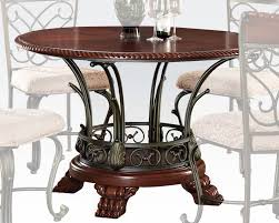 Acme Furniture Dining Room Set Round Dining Table Omari By Acme Furniture Ac70100