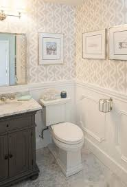 best 25 small bathroom wallpaper ideas on pinterest half