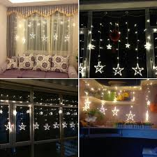 Decorative Garlands Home by Aliexpress Com Buy Plug In Star Led Night String Lights Home