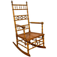 Antique Rocking Chair Prices Aesthetic Movement Faux Bamboo Rocking Chair Attributed To R J