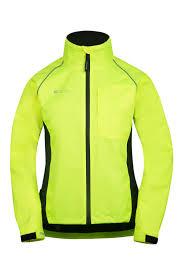 reflective bike jacket running jackets hi vis u0026 reflective jackets mountain warehouse gb