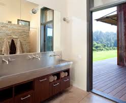 splashy trough sink in bathroom traditional with bathroom