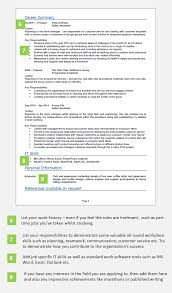 Resume Profile Section Examples by Leaver Cv Example With Writing Guide And Cv Template