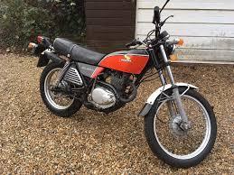 classic 1976 honda xl 250 original and unrestored in