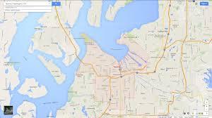 Map Of Washington Cities by Tacoma Washington Map