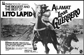 poster image of Lito Lapid as Leon Guerrero, borrowed from video48.blogspot.com