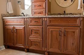built in bathroom bathrk 1 maple bathroom cabinets in chestnut