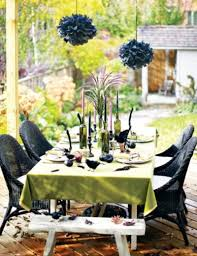 substance of living halloween party table decorating ideas