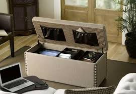 beautiful ottoman with storage lyncorn leather storage ottoman