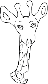 giraffe coloring pages printable stunning giraffe coloring pages