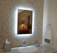 amazon com wall mounted lighted vanity mirror mam92840 28 home