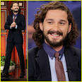 Shia LaBeouf is all smiles while making an appearance on The Tonight Show ... - shia-labeouf-tonight-show-with-jay-leno-appearance