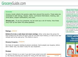 grocery guide grocery store coupon websites for real savings huffpost