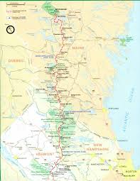 Map Of Pennsylvania And New Jersey by Official Appalachian Trail Maps