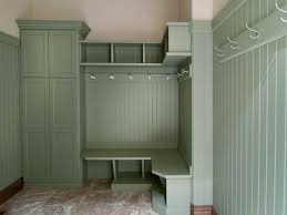 furniture white painted pine wood home mudroom lockers with