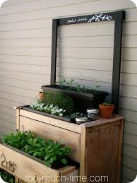 Outdoor Wall Planters by Take An Old Dresser And Convert It To A Potting Bench Hang