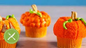 pumpkin cupcakes creative cupcaking youtube