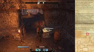 Bal Foyen Treasure Map 1 Eso Echoes Of A Fallen House Quest Bell Order In Morrowind