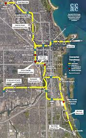 Public Transit Chicago Map by Ambitious Plan To Expand Chicago U0027s Transit Network Hopes To Win